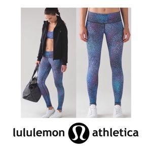 Lululemon Galaxy Leggings